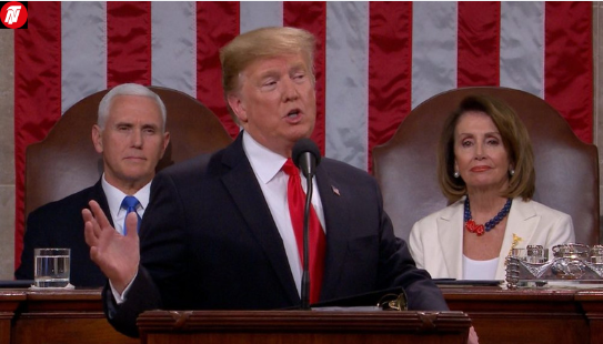 Donald Trump Denies Nancy Pelosi Tradition At State Of The Union Address