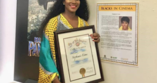 US Council Recognizes Nollywood's Stephanie Okereke Over Dry.