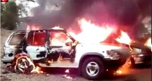 Ambazonian Fighters Kill, Behead Cameroon Soldier, Burn Cars In Buea.