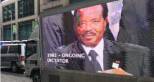 Cameroon's President Gets Heavy Dose Deleterious Ads In Canada.