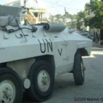UN Armoured Car Kills Four, Injures Nine In Traffic Accident.