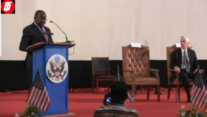 Cameroon's PM, Trade Minister, US Ambassador Exchange Pleasantries, Keynotes.