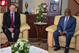 Trump's Envoy, Cameroon's External Relations Minister Discuss Key Issues.