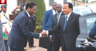 Cameroon Defense Minister Speaks In Buea, Begs Ambazonia Fighters, Betrays Communication Minister.