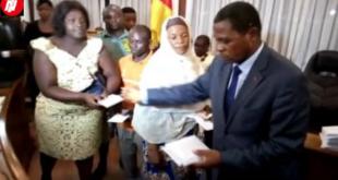 Paul Biya Sends Atanga Nji With 32Million For Douala Market Fire Victims But Ignores Bamenda.