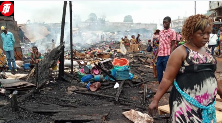 Cameroon: Police Opens Investigation Over Elig Edzoa Market Fire Incident.