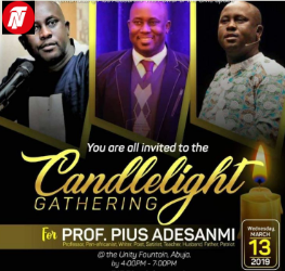 Candlelight Announced For Nigerian Professor Who Died In Ethiopian Plane Crash.