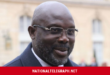After Snakes Forced Him Out Of Office, President George Weah Sends Out Easter Message.