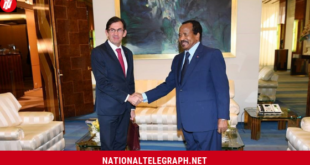 Paul Biya, French Ambassador Hold 2-Hour Long Meeting.