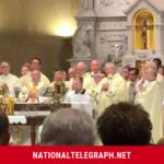 Bishop William J. Waltersheild Celebrates Chrism Mass In West Virginia.