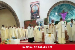 Cameroon: After Bushu, Bishops Nkea, Nfon, Nkuo, Esua Celebrate Chrism Masses, Bless Three Oils.