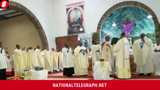 Cameroon: After Bushu, Bishops Nkea, Nfon, Nkuo, Esua Celebrate Chrism Masses, Bless Three Oils.