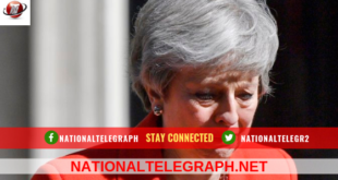 British PM Theresa May Resigns June 7.