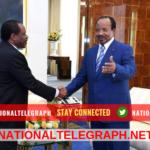 Paul Biya Receives Obiang Nguema's Legate.