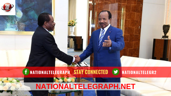 Paul Biya Receives Obiang Nguema's Legate.