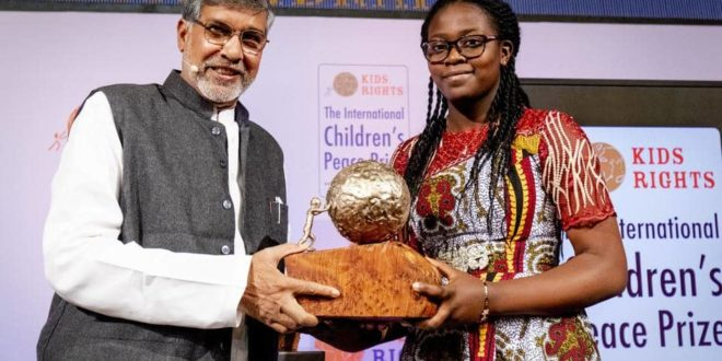 15-Year-Old Cameroonian Activist Wins 65M CFA At International Children's Peace Prize.