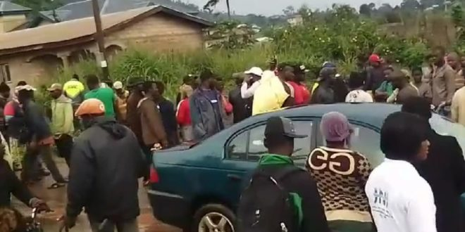Cameroon's City Hosting CAF's Centre Hit By Insecurity As Biker Is Brutally Killed.