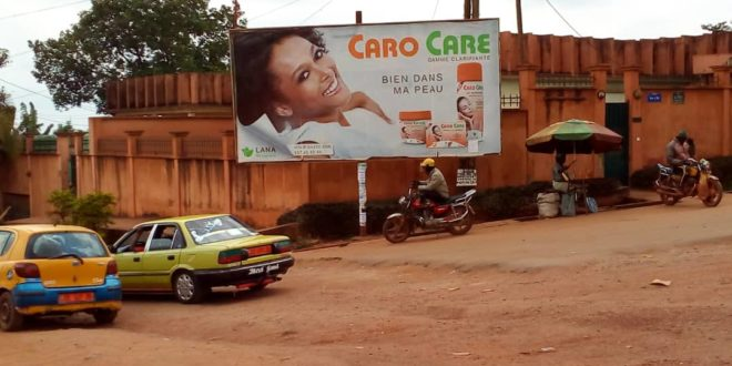 @frikEsthetik Deplores Cameroon's Top City Council For Promoting Caro Care Skin Bleaching Lotion.