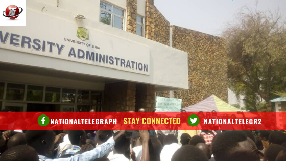 Juba University Students Begin Protest After Lecturer's Death.