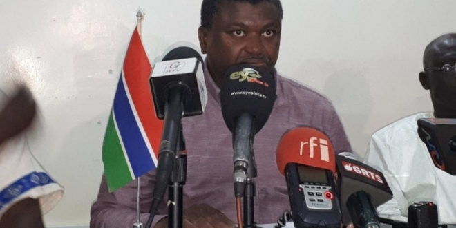 Gambia's Health Minister Warns Despite Release Of Two COVID-19 Patients.